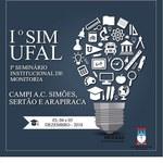 I Seminário Institucional de Monitoria - Sim Ufal - 2018