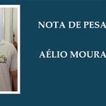 Nota de Pesar sobre o falecimento de Aélio Moura De Jesus.