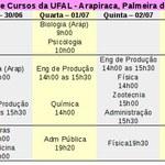 Série de 'lives' apresenta cursos da UFAL - Arapiraca, Palmeira e Penedo